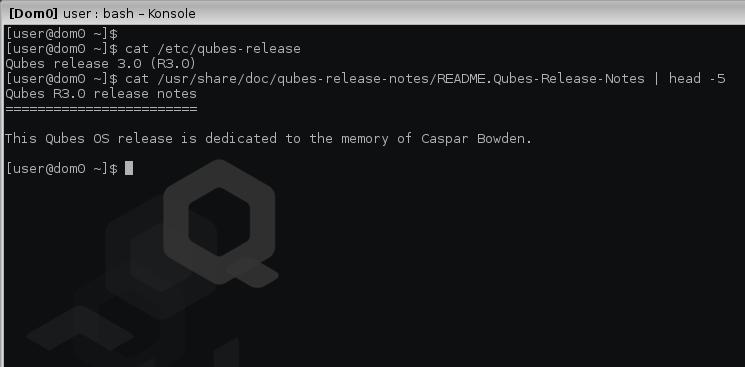 Caspar's dedication screenshot